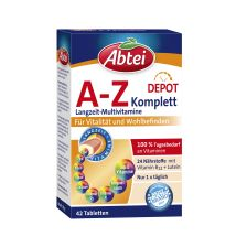 A-Z Komplett Langzeit-Multivitamine (42 Tabletten)