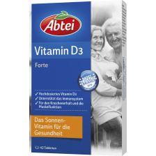 Vitamin D3 Forte (42 Tabletten)爱普泰 维他命D3, 42片
