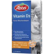 Vitamin D3 Forte Wochendepot (12 Tabletten) 爱普泰维他命D3,12 片