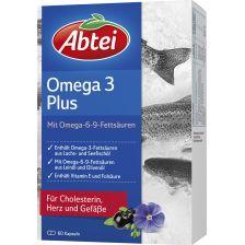 爱普泰 三文鱼油 亚麻籽油 橄榄油胶囊(60粒) Omega-3-6-9 Lachsöl und Leinöl plus Olivenöl (60 Kapseln)