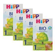 4 x Bio Anfangsmilch 1 (4x600g)