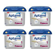 4x Aptamil Profutura Anfangsmilch 1 safe box  (800g)