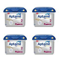 4x Aptamil Profutura Anfangsmilch 2 safe box  (800g)