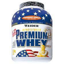 Premium Whey Protein - 2300g - Erdbeer-Vanille