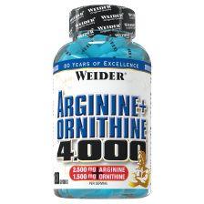 Arginine + Ornithine 4.000 (180 caps)