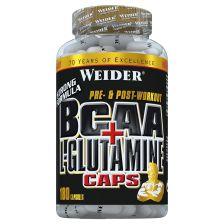 BCAA + L-Glutamine (180 Kapseln)