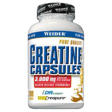 Pure Creatine capsules (100 caps)