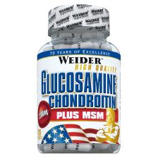 Glucosamine + Chondroitin Plus MSM (120 caps)