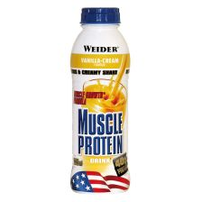 Muscle Protein Drink - 500ml - Vanille - MHD 02.05.2019