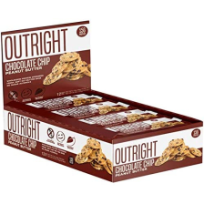 Outright Bar - 12x60g - Chocolate Chip Peanut Butter