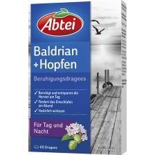 爱普泰 缬草啤酒花安神丸(60粒)Baldrian-Hopfen Beruhigungsdragees (60 Dragees)