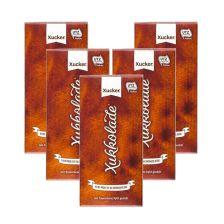 5 x Xylit-Vollmilchschokolade Xukkolade (5x100g)