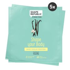 5 x Whey Isolat Protein Vanille »Shape your Body« to go (5x30g)