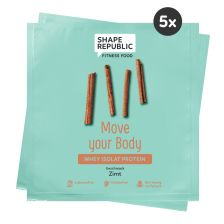 5 x Whey Isolat Protein Zimt »Move your Body« to go (5x30g)