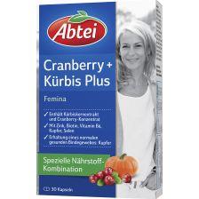 爱普泰 南瓜籽蔓越莓胶囊  女性泌尿膀胱盆腔保健 (30粒)Cranberry   Kürbis Plus Femina (30 Kapseln)