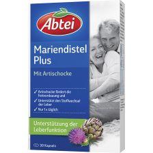 爱普泰 护肝片水飞蓟油 洋蓟 维生素E(30粒)  Mariendistelöl Plus Artischocke mit Vitamin E (30 Kapseln)