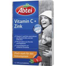 Vitamin C   Zink (30 Lutschtabletten)爱普泰维生素C维E锌 增强免疫力复合营养片30片