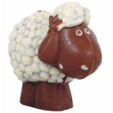 Osterschaf Vollmilch- & weiße Schokolade bio (85g)