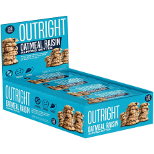 Outright Bar - 12x60g - Oatmeal Raisin Almond Butter