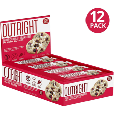 Outright Bar - 12x60g - White Chocolate Cranberry Peanut Butter