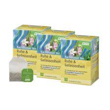 3 x Bachblüten-Tee Ruhe & Gelassenheit bio (3x15 Beutel)