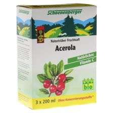 BIO Acerola Naturtrüber Fruchtsaft (3x200ml)