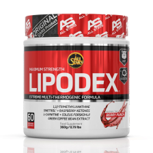 Lipodex powder Berry Punch (360g)