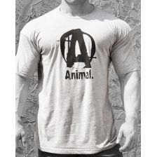 Animal Basic Logo Tee Grey