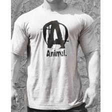Animal Basic Logo Tee Grey (M)
