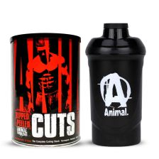 Animal Cuts (42 Packs) + Animal Shaker Black