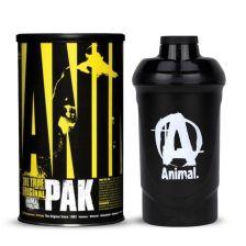 Animal Pak (44 Packs) + Animal Shaker Black