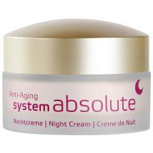 Anti-Aging system absolute Nachtcreme (50ml)