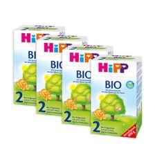 4x Bio Folgemilch 2 (800g)