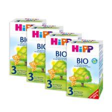 4x Bio Folgemilch 3 (800g)