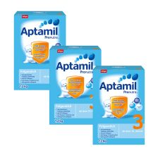 3x Aptamil Pronutra 3 Milchnahrung (1,2kg)