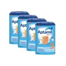 爱他美婴幼儿配方奶粉3段800克,4盒装 4x Aptamil Pronutra 3 Milchnahrung (800g)
