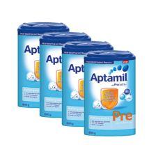 4x  Aptamil Pronutra PRE Milchnahrung (800g)