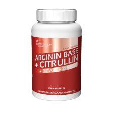 L-Arginin Base + Citrullin + BCAA + Zink (150 Kapseln)