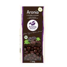 Aroniabeeren in Zartbitterschokolade bio (200g)