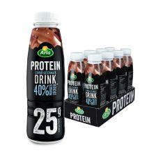 Protein Drink weniger Zucker - 8x479ml - Schokolade