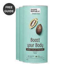 3x Protein nach Wahl — inkl. gratis Rezept Buch