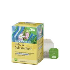 Bachblüten-Tee Ruhe & Gelassenheit bio (15 Beutel)