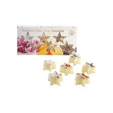 Badeherzen je 2x Rose, Limette & Macadamia, Lavendel (6x18g) Geschenkset