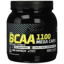 BCAA Mega caps 1100 (300 caps)