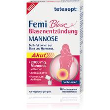 Femi Blase Blasenentzündung Mannose (8x2,25g)