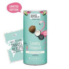 Beauty Slim Shake Coconut Kiss »Lovely Timeout« (420g) + »Travel Rezepte«