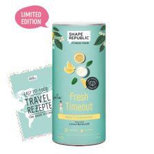 Beauty Slim Shake Lemon Buttermilk »Fresh Timeout« (420g) + »Travel Rezepte«