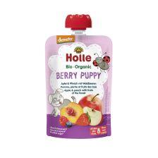 Demeter Berry Puppy - Pouchy Apfel & Pfirsich mit Waldbeere, ab dem 8. Monat (100g)