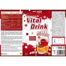 Low Carb Vital Drink Konzentrat Winter Punsch (1000ml)