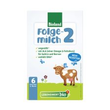 Lebenswert Bio-Folgemilch 2, nach dem 6. Monat (500g)